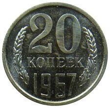(M51) - Russland Russia - 20 Kopeken Kopeks 1967 - Kursmünze - UNC  RAR - Y# 132