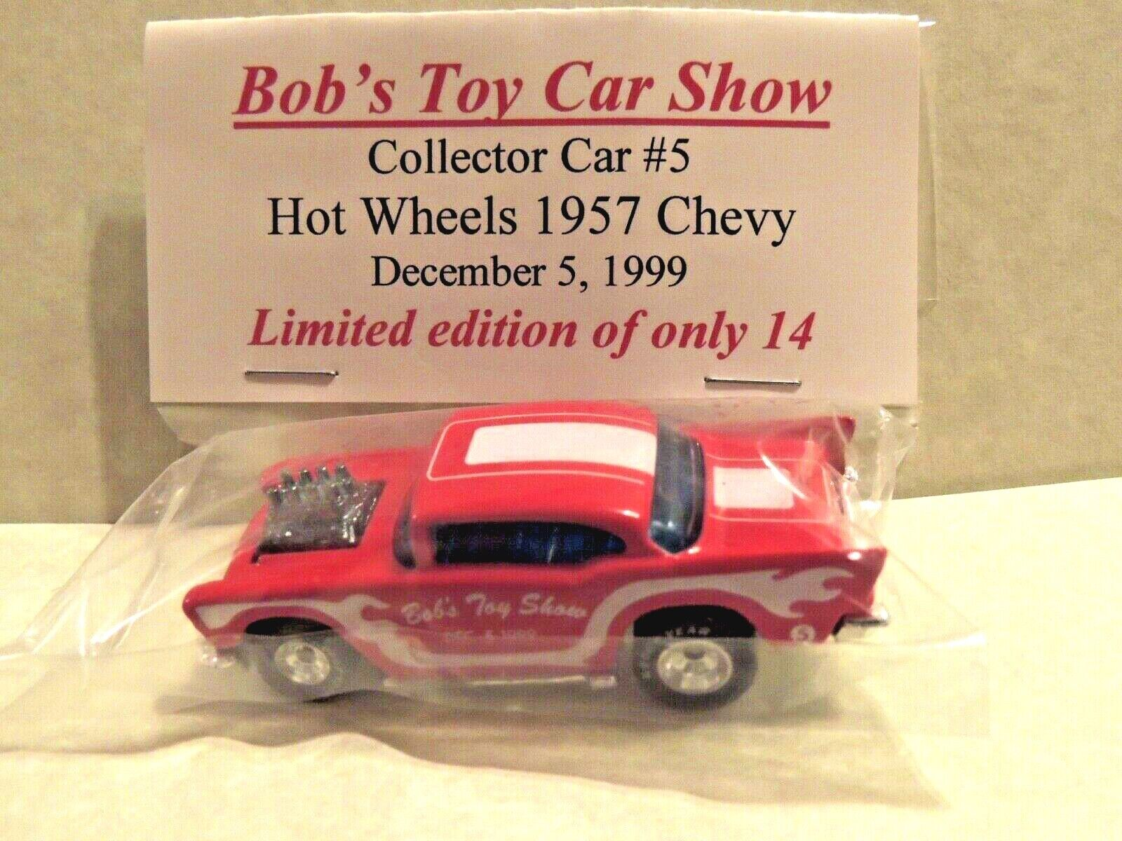 Hot Wheels'57 CHEVY  Bob's Toy Show 1999, California  SUPER RARE  1 de 14