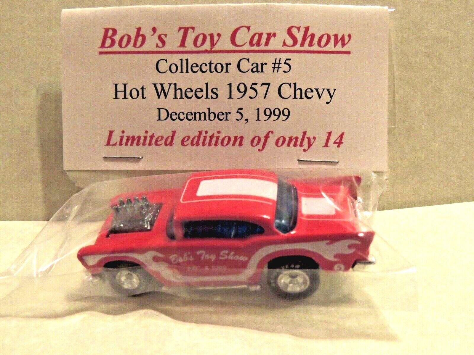 Hot Wheels '57 CHEVYBob's Toy Show 1999, California SUPER RARE 1 Of 14