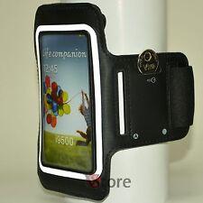 Fascia Da Braccio Per Samsung Galaxy S4 S3 Custodia Sport da Corsa Armband Nero
