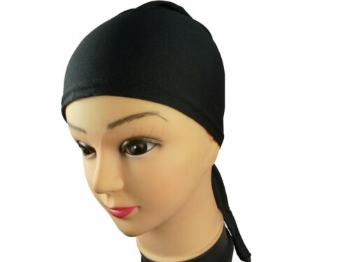 Women Under Scarf Hijab Tie Back Bonnet Cap Ladies Head Scarf