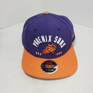 New-Era-9Fifty-Phoenix-Suns-Snapback-Hat-Purple-Orange-NBA-Basketball