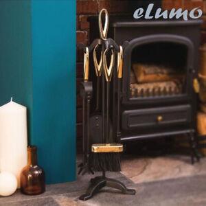 5pc-Fuoco-Camino-Compagno-Set-Fireside-strumenti-casa-regalo-unico-Cool-UK
