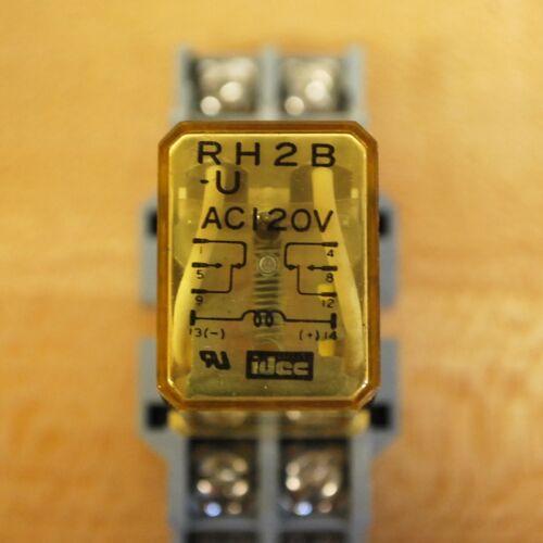 USED Idec RH2B-U Relay with 120v Coil