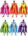 DC Comics Batman Rainbow Action Figures 6-pack
