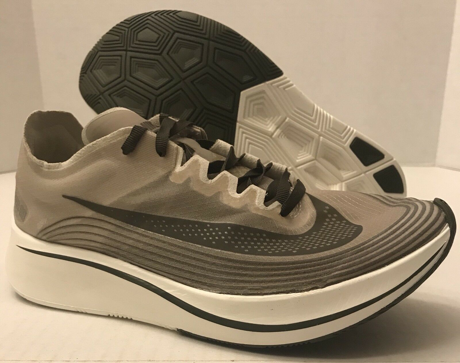 NIKELAB ZOOM FLY SP AA3172-300 Dark-Loden Price reduction nike lab NO TOP Wild casual shoes