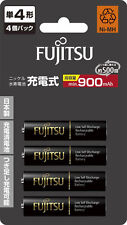 AAA Batteries Fujitsu Rechargeable Made in Japan AAA Eneloop Batteries Ni-MH x 4