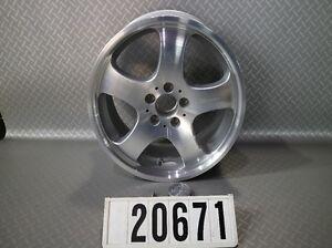 1 Pcs. Carlsson 1/5 Mercedes Alufelge 8jx18 H2 Et35 Lk 5x112mm Neuf #20671-afficher Le Titre D'origine