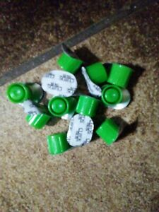 Green CUROS CAPS--Lot of 12--Port, Picc, IV Protectors for Needless Valves- | eBay