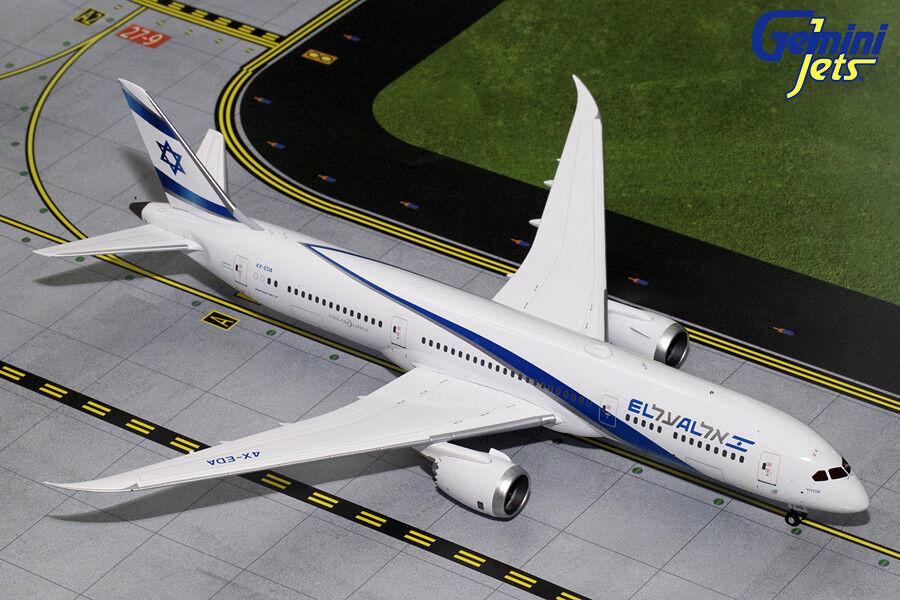 El al Boeing 787-9 4X-EDA Gemini Jets G2ELY692 escala 2018
