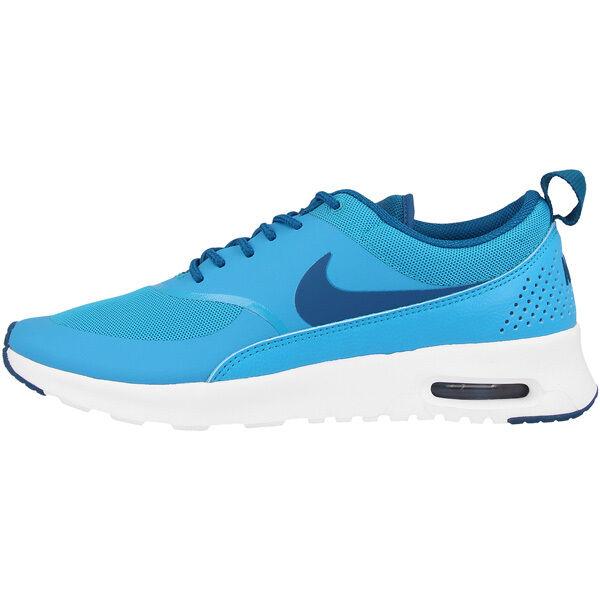 Nike Air Max Thea mujer zapatos cortos señora 599409-411 azul azul azul Lagoon 95 90 1  toma