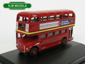 BNIB-N-GAUGE-OXFORD-DIECAST-1-148-NRM001-London-Transport-Routemaster-Bus