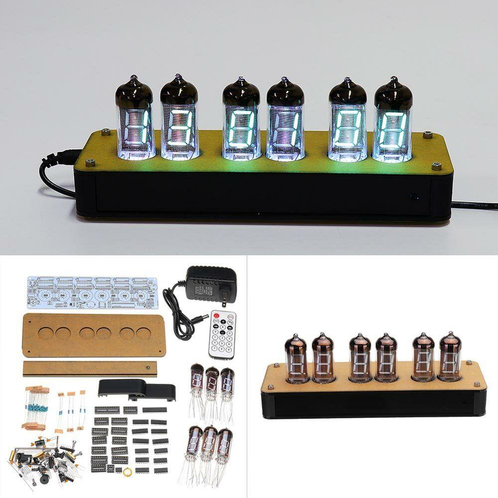 À faire soi-même NB-11 tube fluorescent Horloge Kit IV-11 variateur aspirateur Fluorescent Display Remote