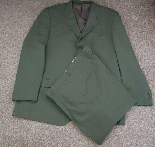 "Men/'s Green Two Piece Suit 38/"" 54 46/"""