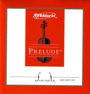 D'addario Prelude Violin A String 4/4 Aluminium Medium Arrivent!-afficher Le Titre D'origine