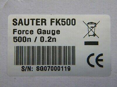 Digitales-kraftmessgerät Modell Fk500 Von Sauter Fortgeschrittene Technologie üBernehmen