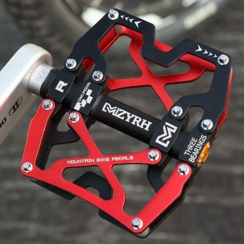 Pedals Cycling Mountain MTB BMX Bike Bicycle 3 Bearing Flat-Platform MZYRH