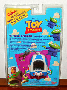 Toy-Story-Buzz-Alien-Virtual-Friends-Space-Explorer-90-039-s-Electronic-Game-NEW