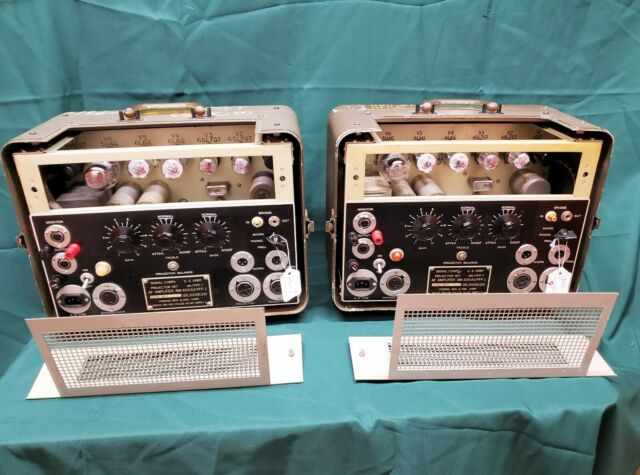 US Signal Corp Western Electric 6L6 5881 Tube Power Amplifiers [Pair]