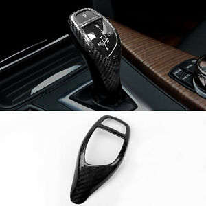 Carbon-Fiber-Interior-Shifter-Gear-Knob-for-BMW-F16-X6-SUV-2015-2017