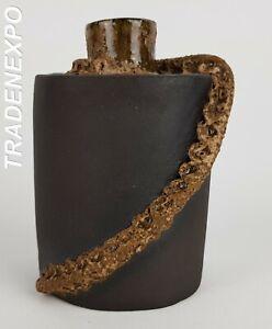 Vintage-60-70-STUDIO-ART-POTTERY-AS1280-Vase-Fat-Lava-Era-West-German-Pottery