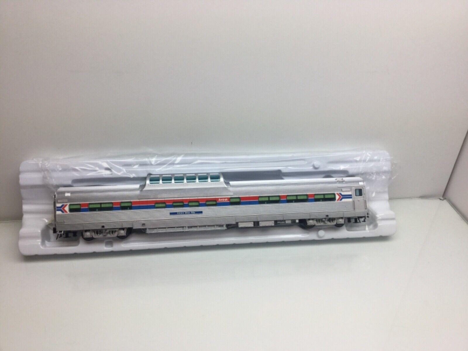 Atlas Amtrak Dome Car W  Conductor's Window 3 Rail NEW O Scale