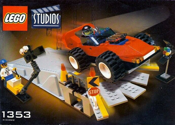 NEW Lego Studios 1353 Car Stunt Studio   Sealed - SHIPS WORLD WIDE