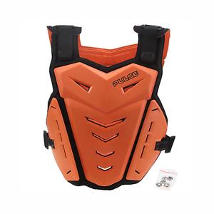 PULSE-RENEGADE-ORANGE-MOTOCROSS-MX-ENDURO-BMX-MTB-MOUNTAIN-BIKE-CHEST-PROTECTOR
