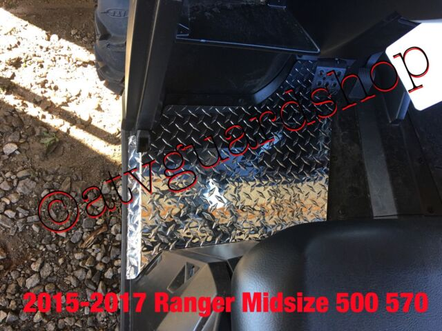 POLARIS RANGER 1000 XP FULL SIZE 2017 DIAMOND PLATE FLOOR BOARDS BLACK