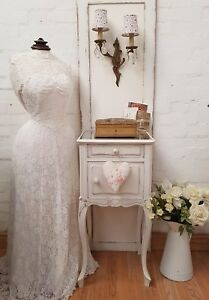 GORGEOUS-LARGE-ANTIQUE-FRENCH-MIRROR-TOPPED-ROCOCO-POT-CUPBOARD-C1900