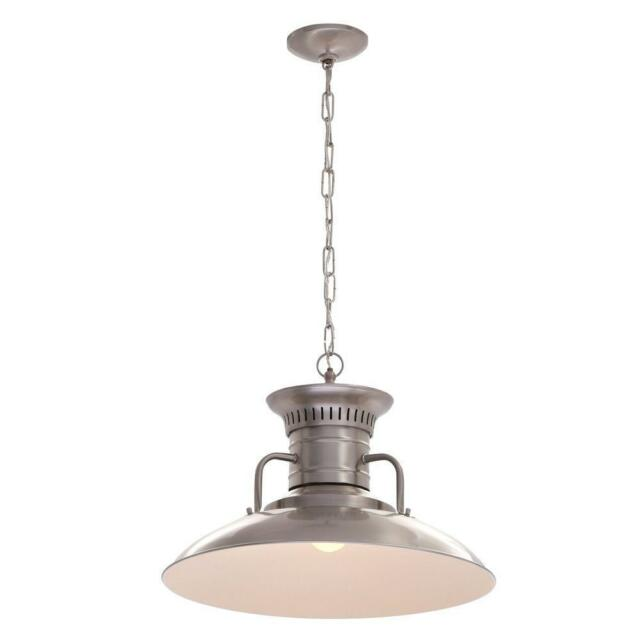 World Imports Lighting 76101 37 Luray 1 Light Pendant In Brushed Nickel