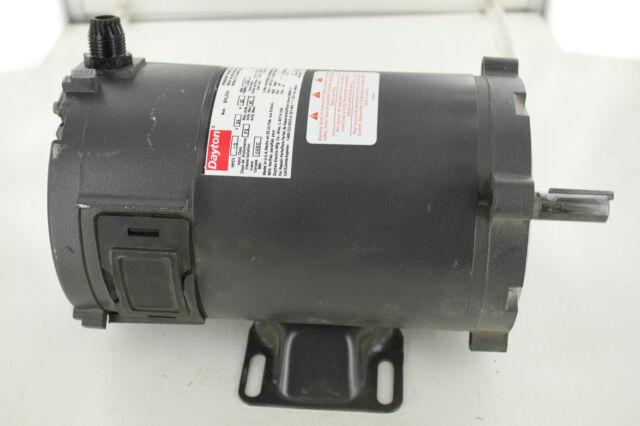 2262f42047d Grainger Dayton 6ML03A 1 2hp DC Permanent Magnet Motor for sale ...