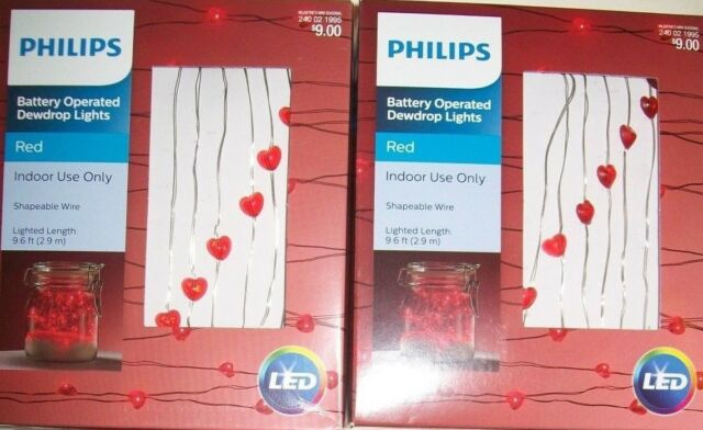 Philips Battery Operated Red Wedding