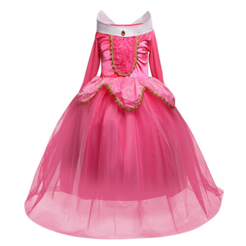 Kids Girl/'s Disney Princess Costume Fancy Dress Cosplay Party Halloween Clothes