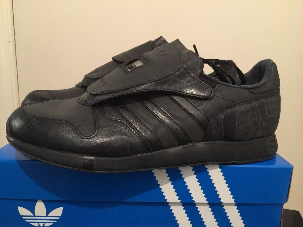 Adidas Dead Stock Micropacer Stealth U.K. Size 11 Black