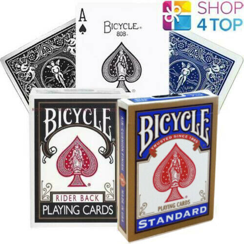 New Bicycle Standard Playing Cards Red