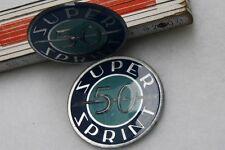 VESPA TOOLBOX embleme badge SS 50 SS50 S.SPRINT frame Super Sprint Logo
