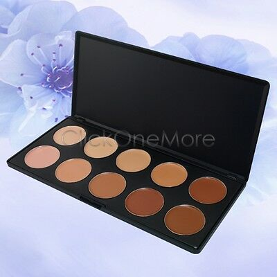 10 Colours Professional Concealer Camouflage Palette Face Cosmetic Makeup