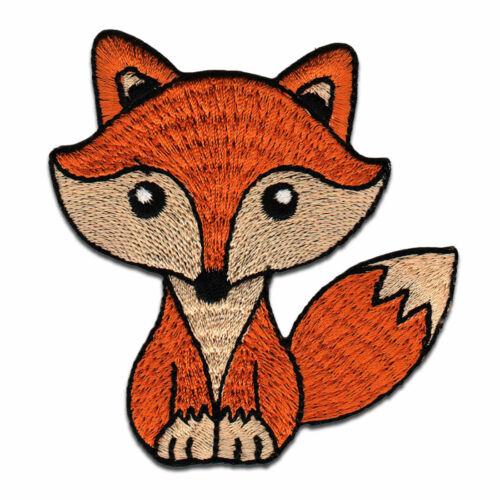 Fuchs Tier Bügelbild Aufnäher
