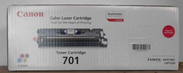 Original Canon 701 Toner magenta für i-Ssnsys LBP5200 MF8180C  9285A003BA OVP B