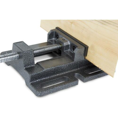 WEN Drill Press Vise Holding Jaw Clinch Table Top Wood Metal Grip Holder 4 In