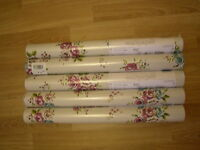 Next Brights Floral Natural Wallpaper Vintage Shabby Chic Bright X 4 Rolls