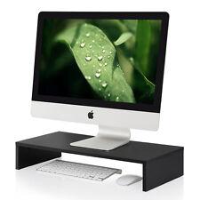 "Fitueyes New Black Desktop Computers Monitor Riser 21.3"" Monitor Laptop Computer"