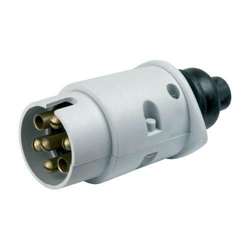 12s Plastic Towing Towbar Caravan Plug 7 Pin By Ring A0029