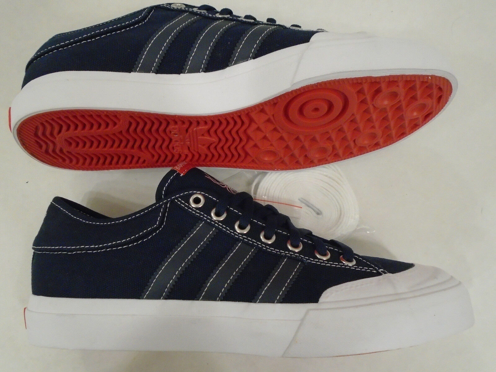 NEW Adidas Size Mens Size Adidas 9 Skateboarding X Bonethrower Matchcourt Shoes Navy CG4870 4b850c