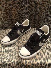52a3c9d8e6d5 Converse Star Player EV OX Black Grey Glitter Trainers Shoes 519075F Mens  Size 6