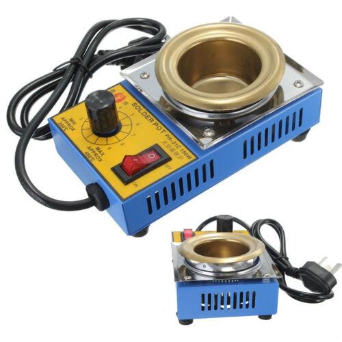 Solder Pot Soldering Desoldering Bath Titanium Plate 50mm 220V 150W 200-480℃