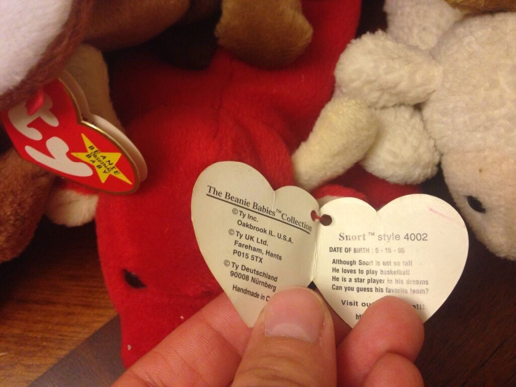 Ty Beanie Babies  Slippery  The The The Seal 1998, Multiple Errors, Rare, Mint df3a06