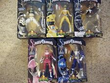 Mighty Morphin Power Rangers Legacy Collection Bianco, Giallo, Nero, Rosa, Azzurro