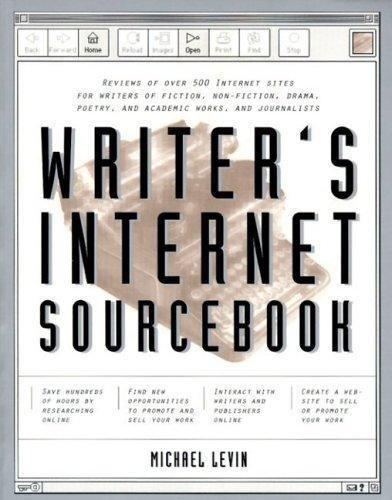 Writer's Internet Sourcebook Levin, Michael Paperback Used - Good